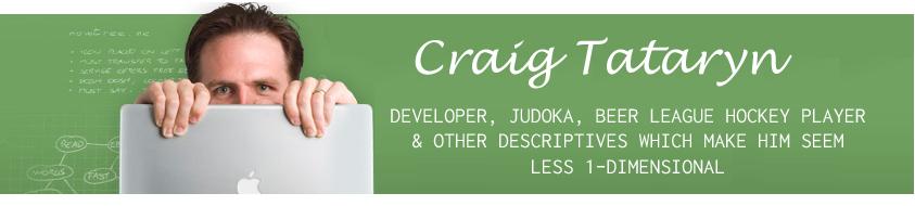 Craig Tataryn's .plan