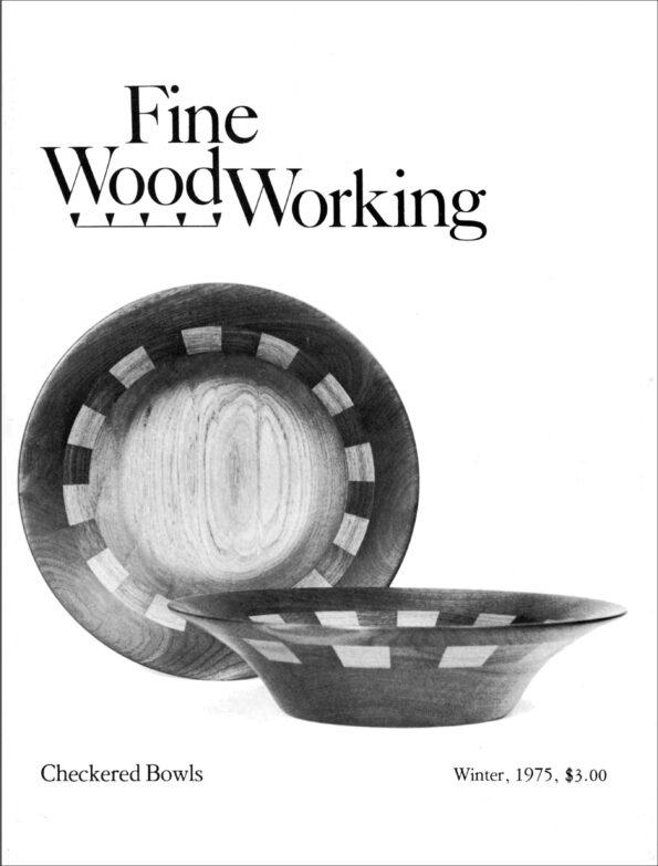 Fine Woodworking Issue #1 - Winter 1975