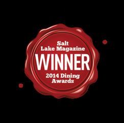 Salt Lake Magazine 2014 Winner