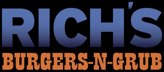 Richs Burgers N Grub Logo