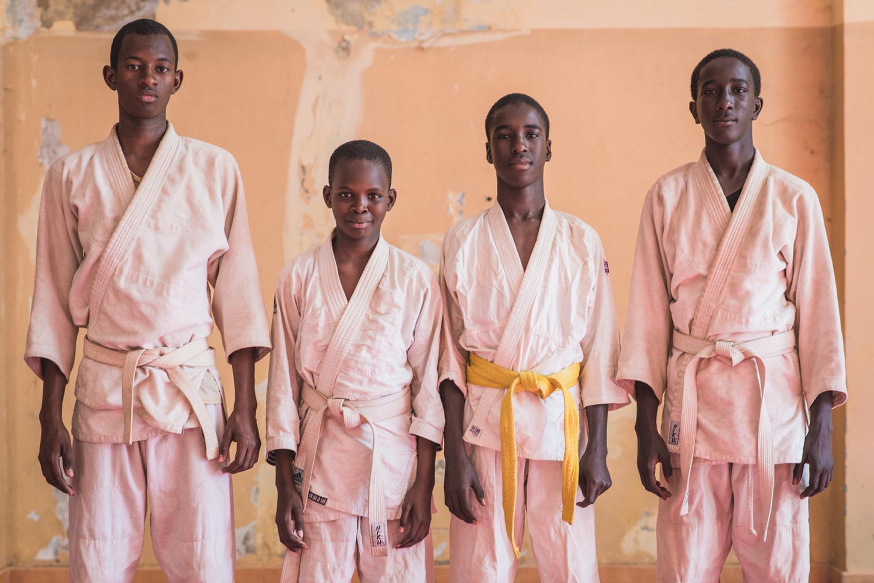 Aliou, Mouhamed, Moustapha & Abdoulaye