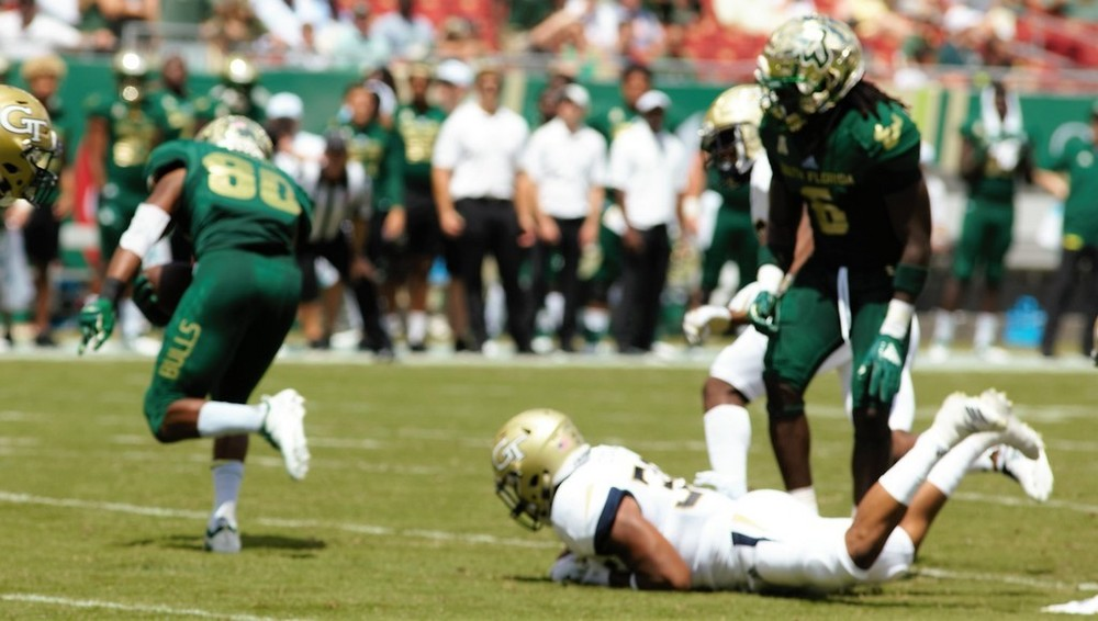 South Florida Bulls vs Georgia Tech 2018 Bulls Gallery  0062.jpg