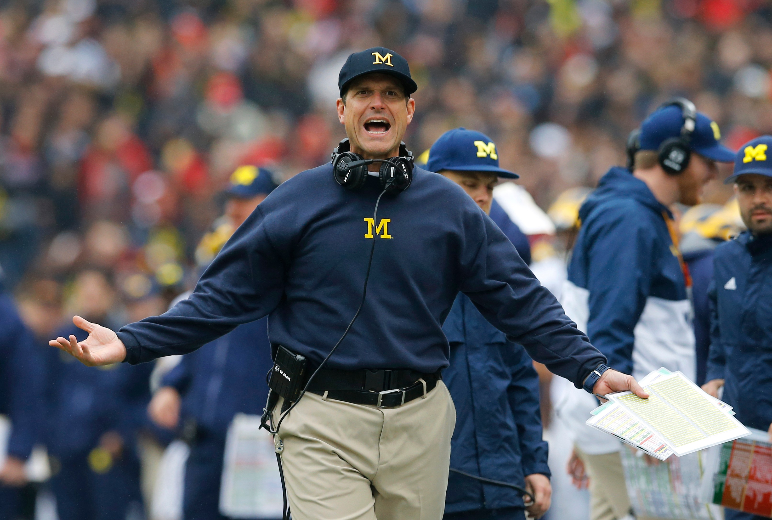 Jim Harbaugh, Michigan Wolverines