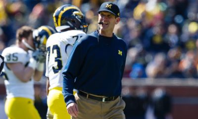 Jim Harbaugh, Michigan