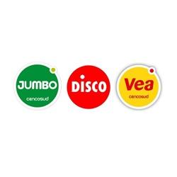 Jumbo, Disco y Vea