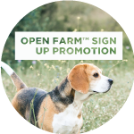 Open Farm Sign Up Promotion