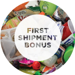 First Shipment Bonus