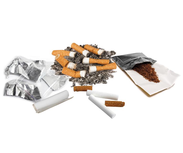 Thumbnail for Programme de recyclage des déchets de cigarettes