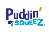 Snack pouch recycling puddin logo 1