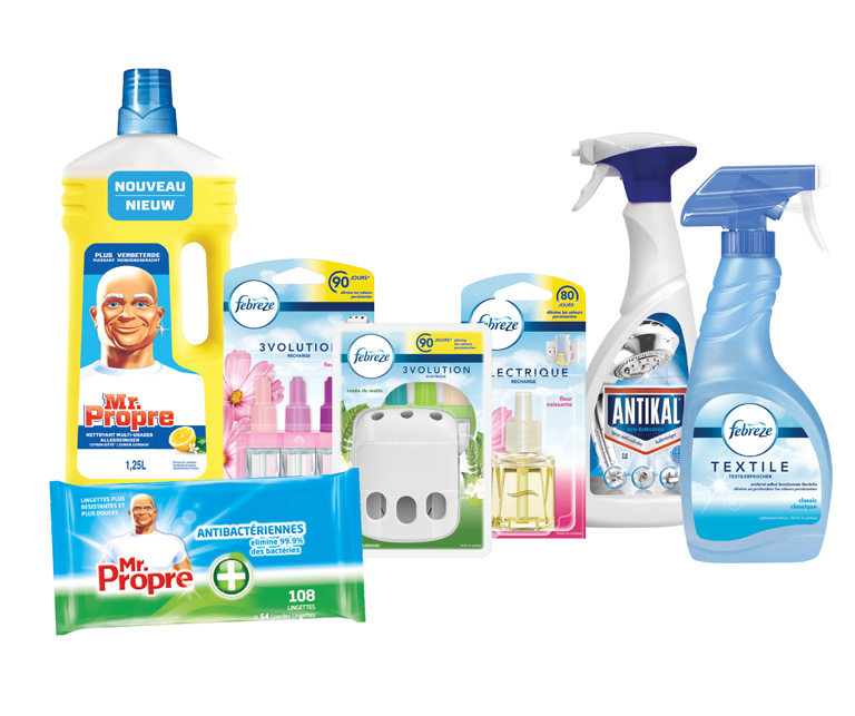 Thumbnail for Programme de recyclage Febreze®