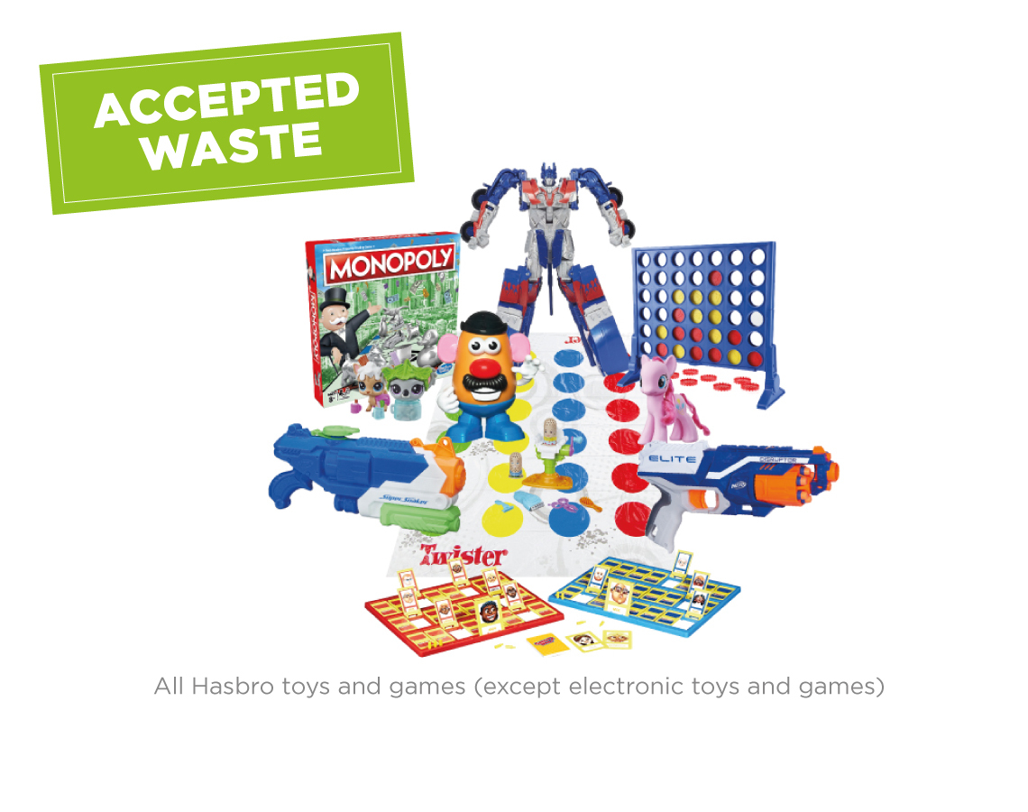 Hasbro Toy and Game Recycling