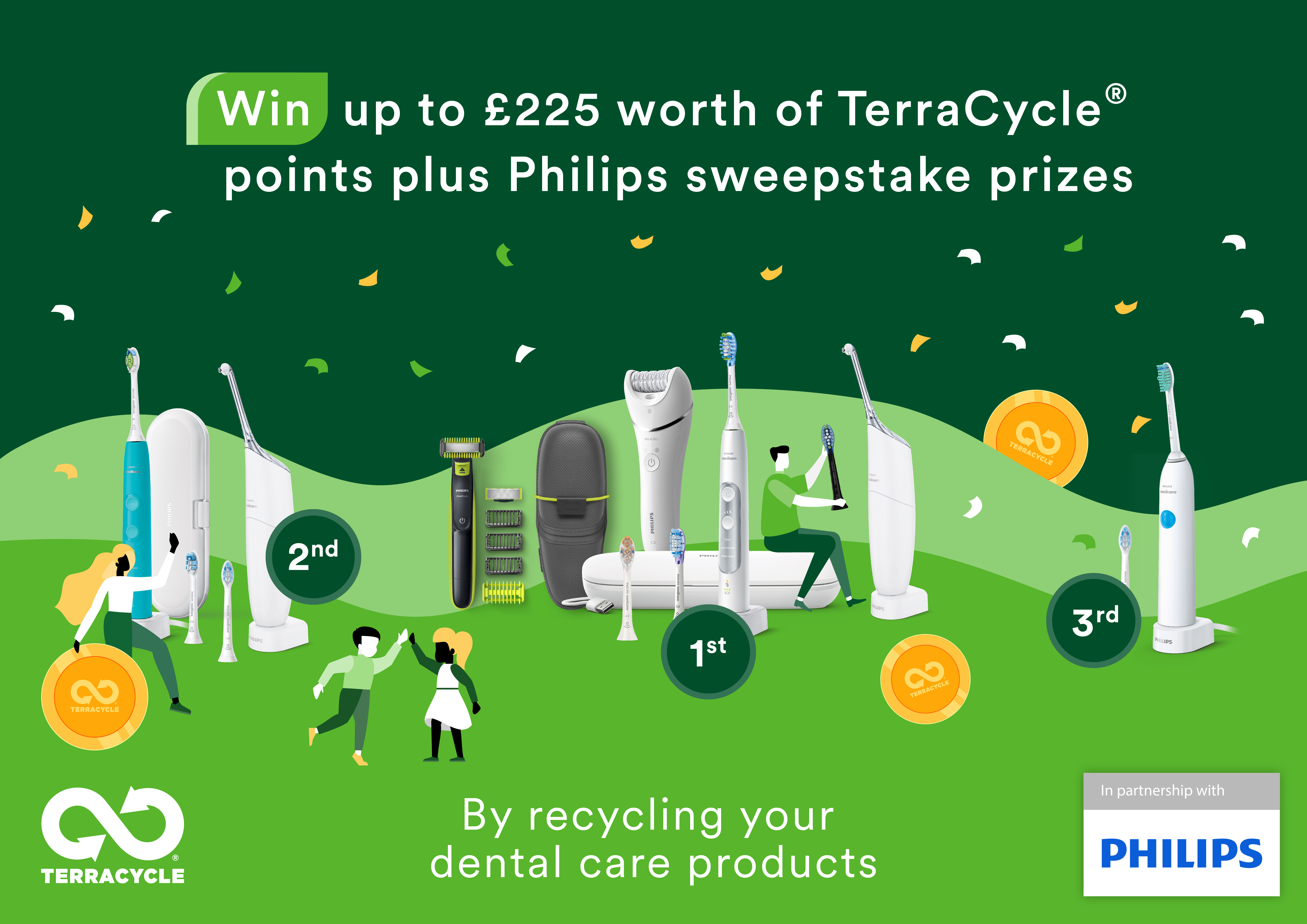 * 1 TerraCycle point is worth £0.01.