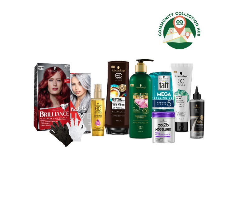 Thumbnail for Schwarzkopf Cares Hair Care & Colour Recycling Program - Community Collection Hubs
