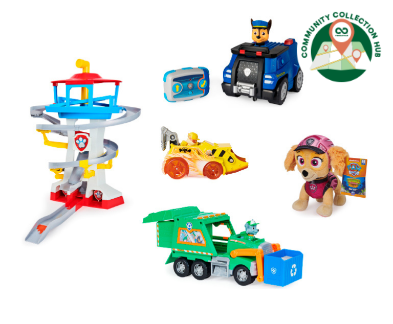 Thumbnail for PAW Patrol Toy Recycling Program - Community Collection Hubs