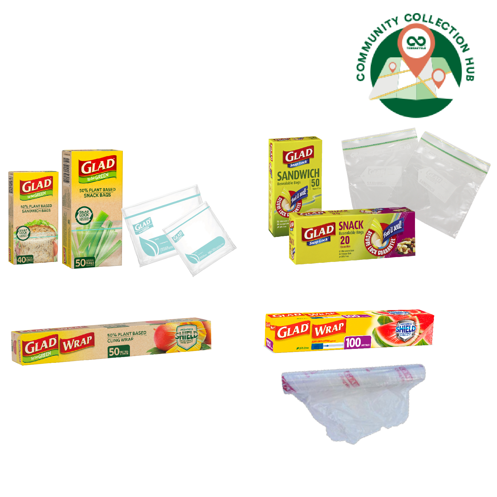 Thumbnail for GLAD® Food Care Recycling Program - Community Collection Hubs