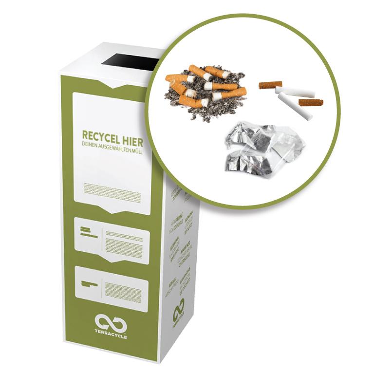 Thumbnail for Zigarettenabfälle