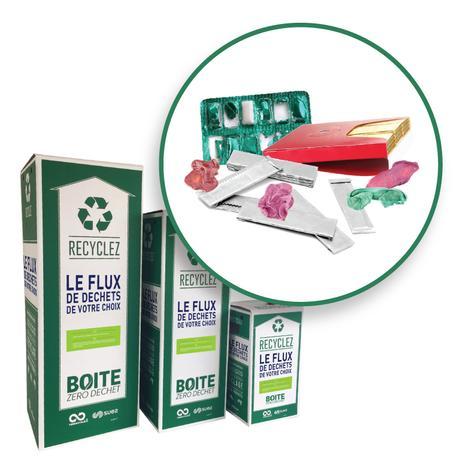 Thumbnail for - Boîtes de chewing-gums et d'emballages usagés
