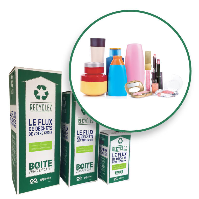 Thumbnail for - Emballages de produits cosmétiques