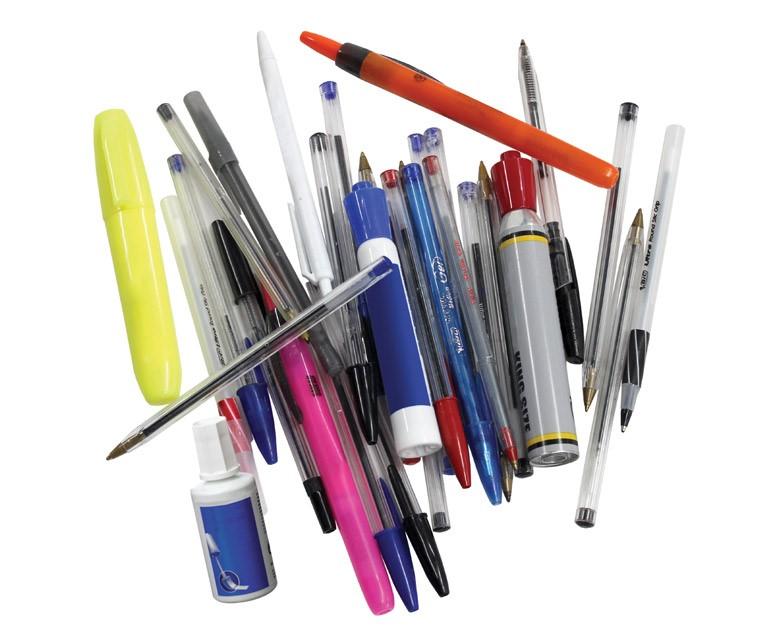 Thumbnail for Programme de recyclage des instruments d'écriture