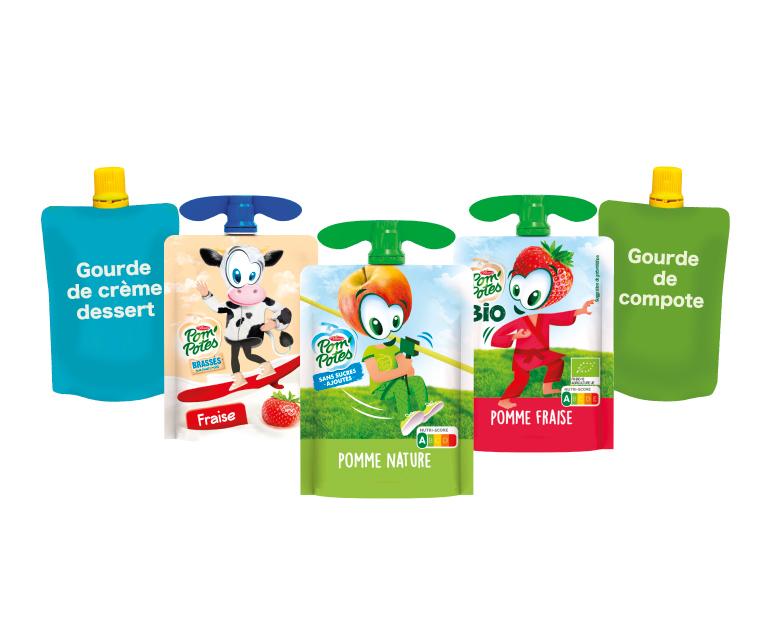 Thumbnail for Programme de recyclage des gourdes de compote