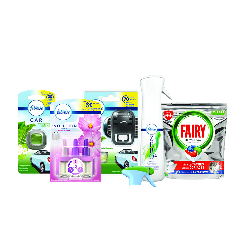 Thumbnail for Programme de recyclage Febreze® et Fairy®
