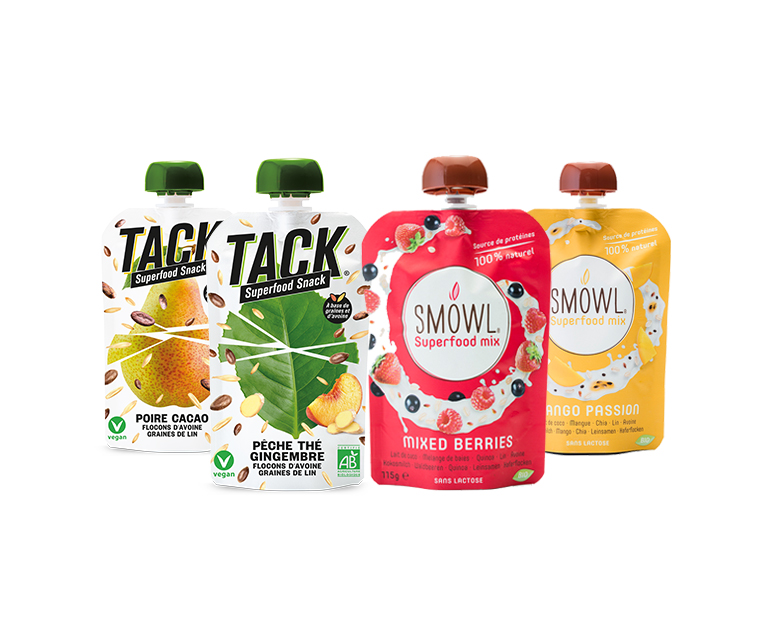 Thumbnail for Programme de recyclage SMOWL® et TACK® Superfood