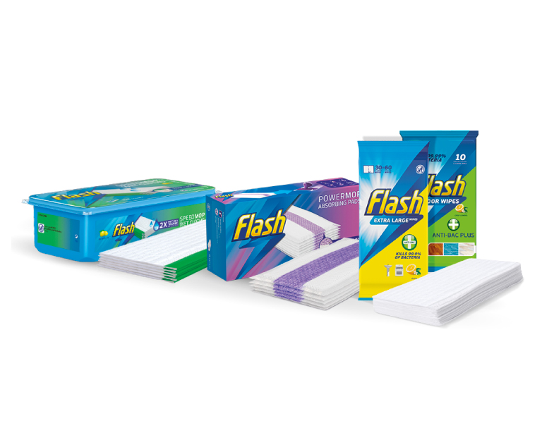 Thumbnail for The Flash® Wipes, Cloths and Pads Recycling Programme