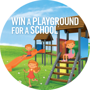 Playground key visual contest icon