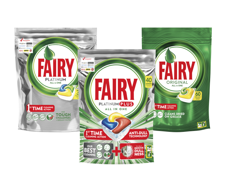 Thumbnail for The Fairy Dishwasher Tablets Packaging Recycling Programme