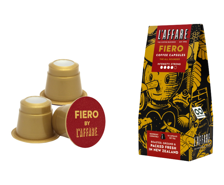 Thumbnail for L'affare coffee capsules recycling programme