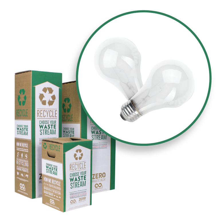 Incandescent Light Bulbs Zero Waste Box Terracycle