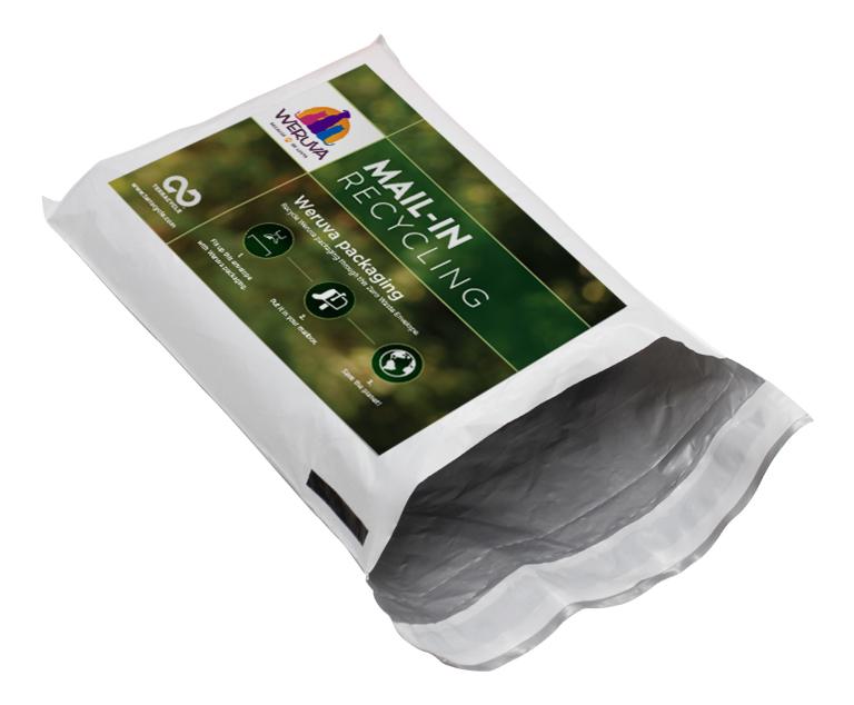 Thumbnail for Weruva Recycling Envelope Program