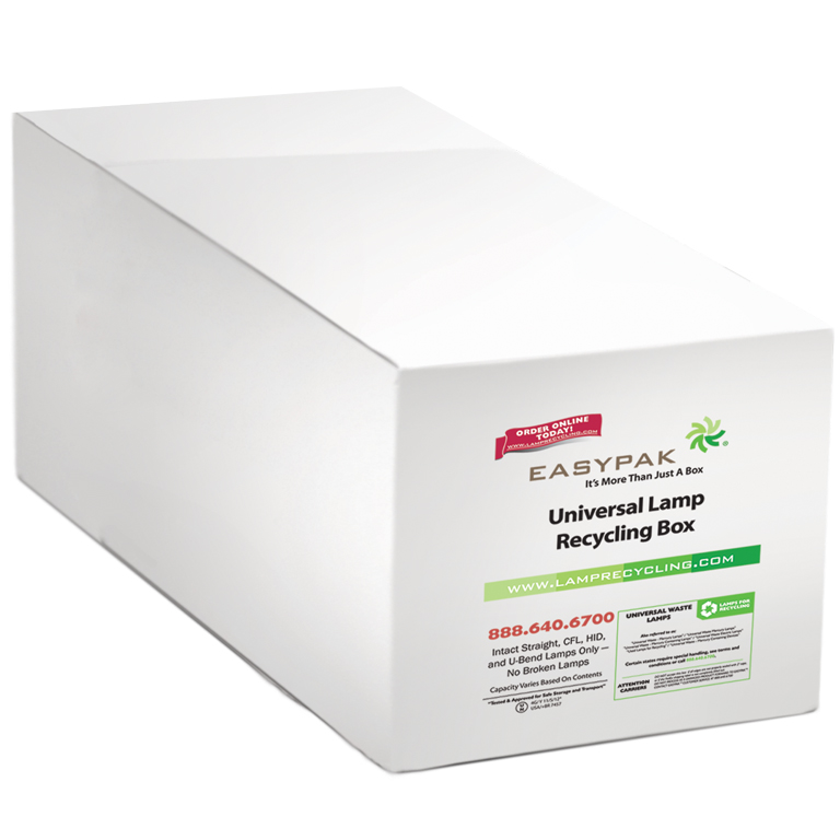 Thumbnail for EasyPak™ Universal Lamp Recycling Box