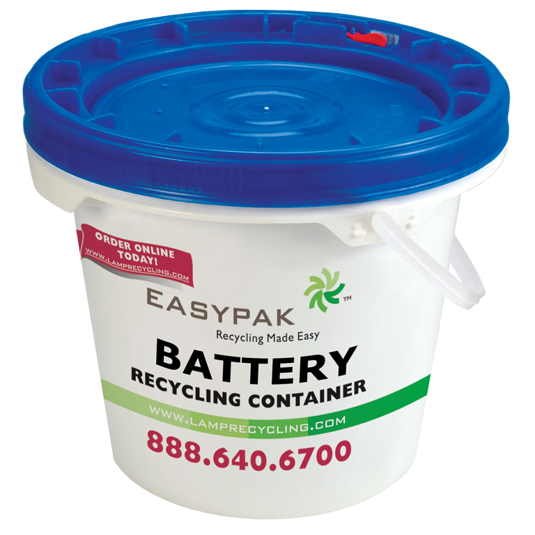 Thumbnail for EasyPak™ 3.5 Gallon Battery Recycling Container