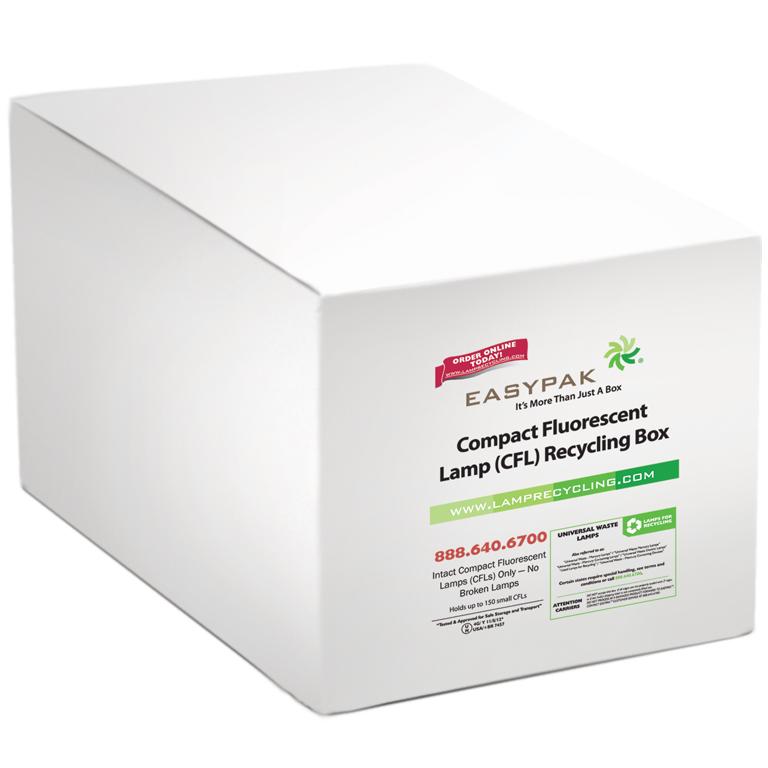 Thumbnail for EasyPak™ CFL Recycling Box