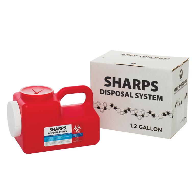 Thumbnail for 1.2 Gallon Sharps System