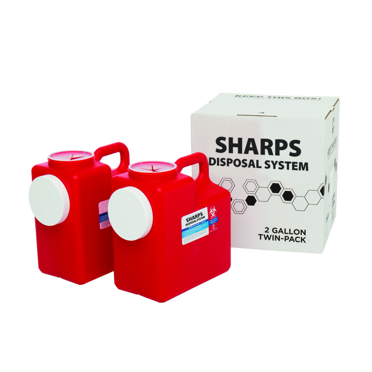 Thumbnail for 2 Gallon 2 Pack Sharps System