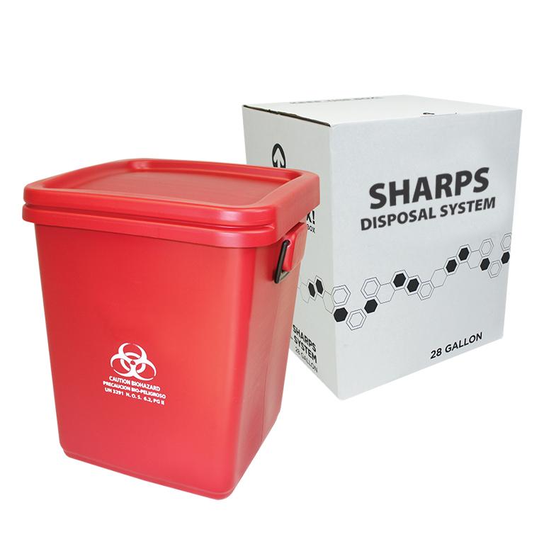 Thumbnail for 28 Gallon Sharps System