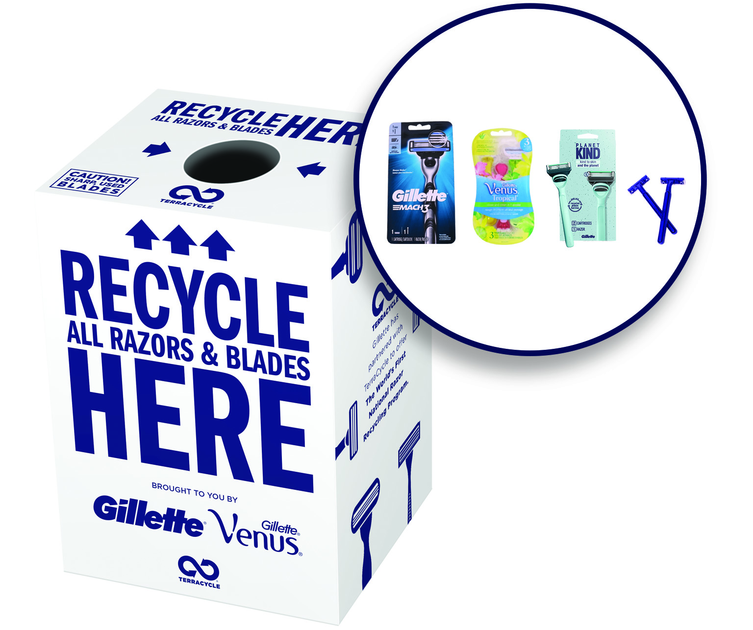 Thumbnail for Gillette® Razor Local Recycling Solutions