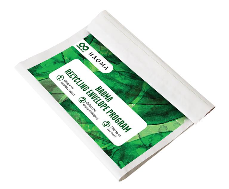 Thumbnail for HAOMA Recycling Envelope Program