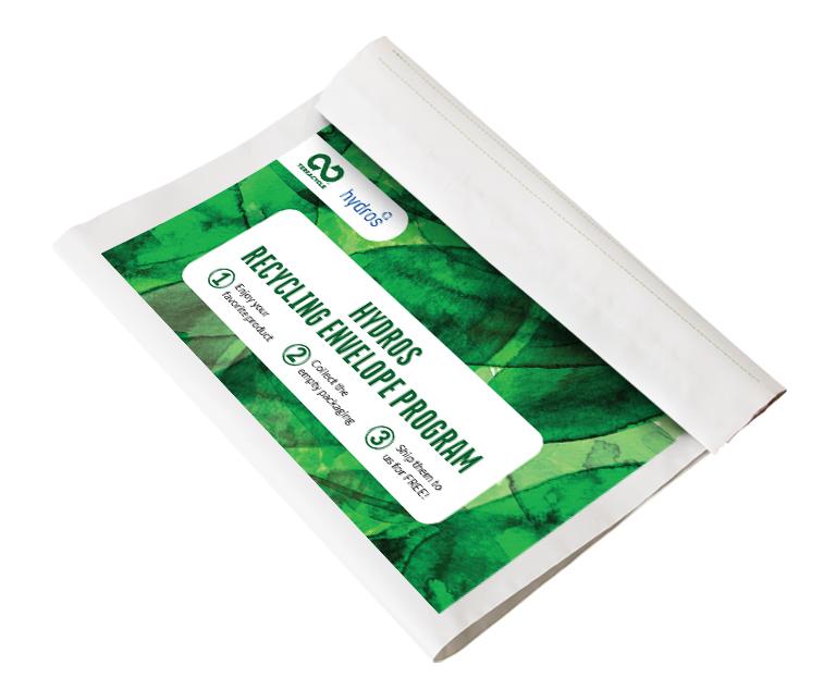 Thumbnail for Hydros Recycling Envelope Program