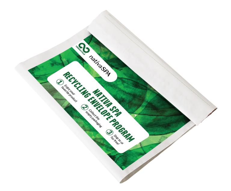 Thumbnail for Nativa SPA Recycling Envelope Program