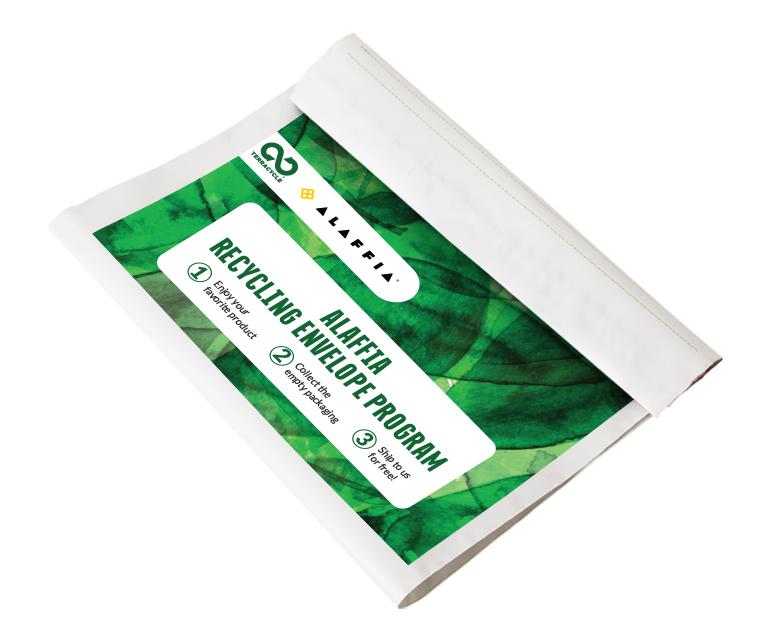 Thumbnail for Alaffia® Recycling Envelope Program