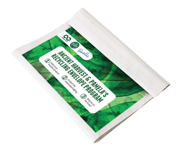 Thumbnail for Ancient Harvest & Pamela's Recycling Envelope Program