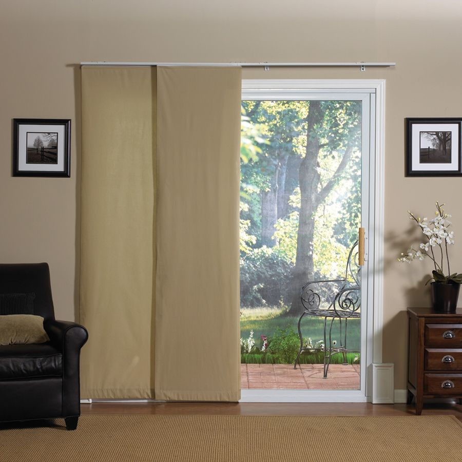 Anyone Have A Sliding Glass Door Without Vertical Blinds