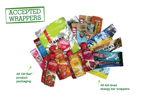 Clif Bar Energy Bar Wrapper Brigade Accepted Waste