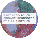 Baby Food Pouch Brigade sponsored by Ella's Kitchen