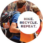 Hike. Recycle. Repeat.