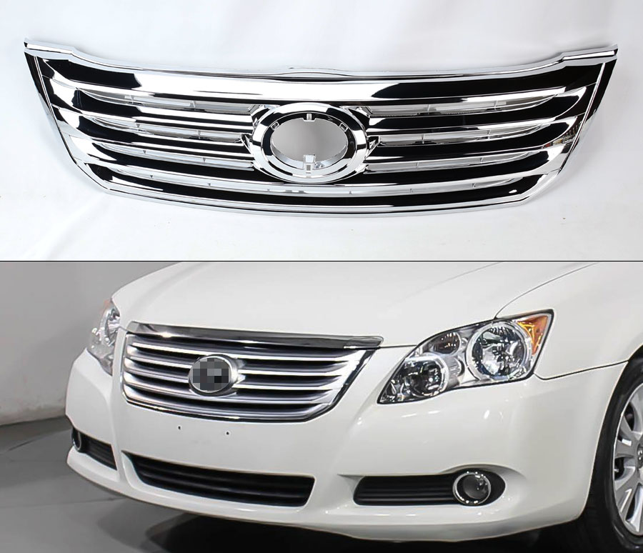 Chrome Front Bumper Replacement Grill For Toyota Avalon