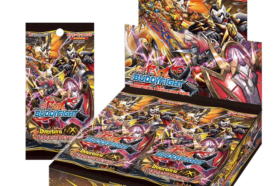 >Overturn Thunder Empire - Future Card Buddyfight